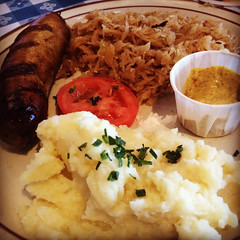 Bratwurst and Kraut, Bavarian Castle @ Henderson 07.2014