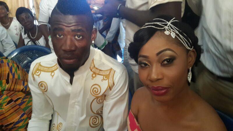 Afriyie Acquah and wife Amanda 5