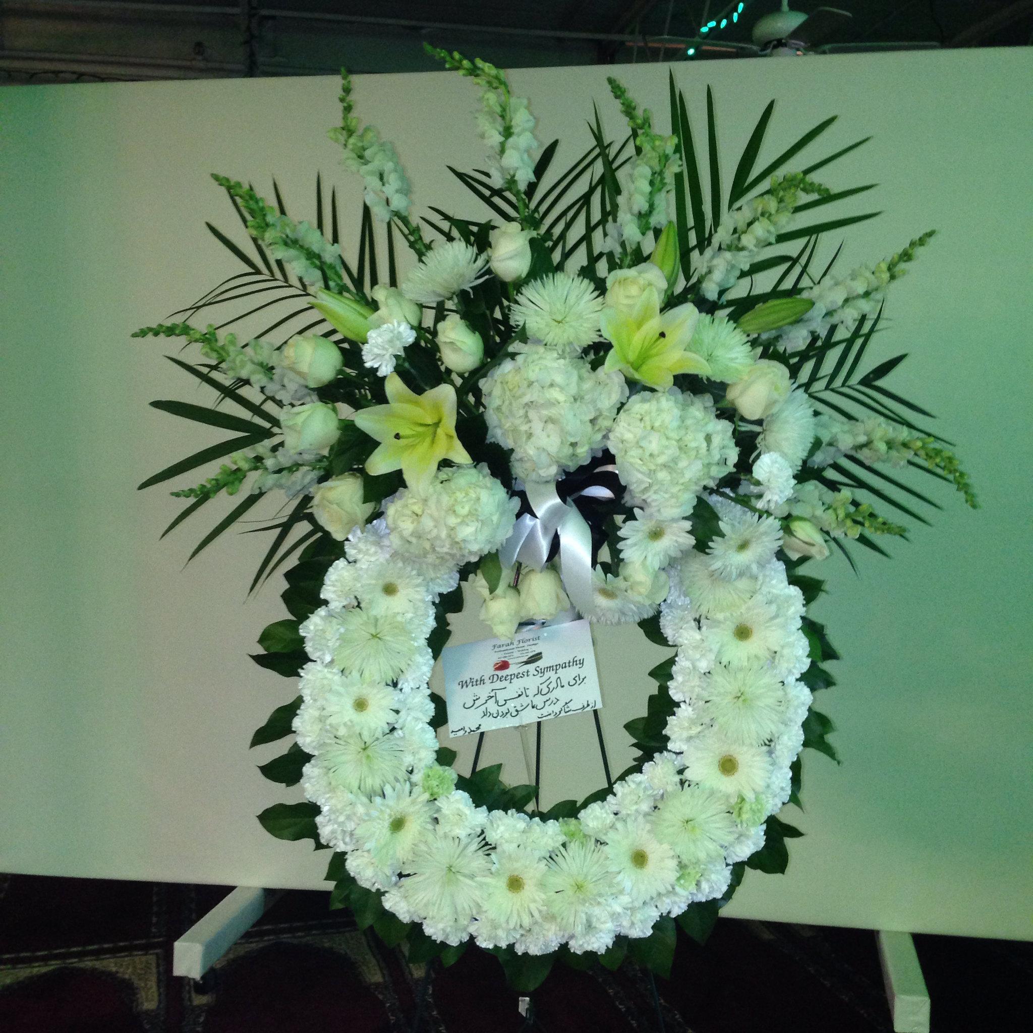 Farah florist  F-WR-12.       $500