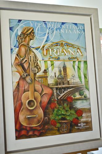 Cartel de la Velá de Santa Ana 2014