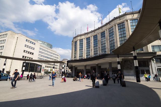day 4 brussel central station