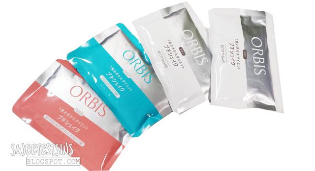 orbis diet petit shake flavours