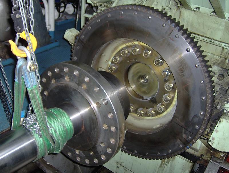 Propulsion Shaft to Main Engine - Alignment