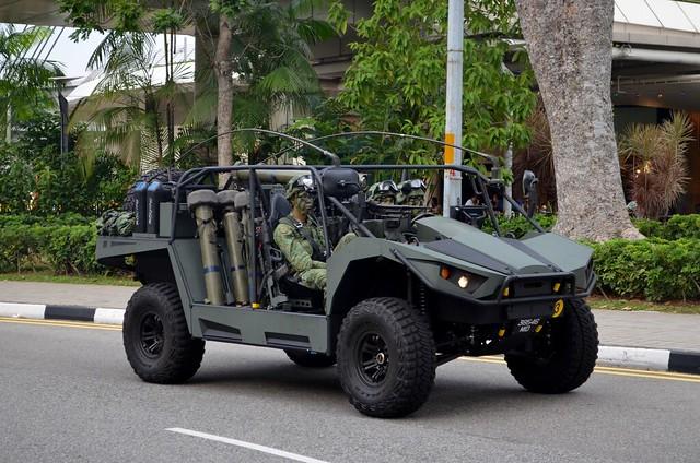 Singapore Army Light Strike Vehicle Mk II