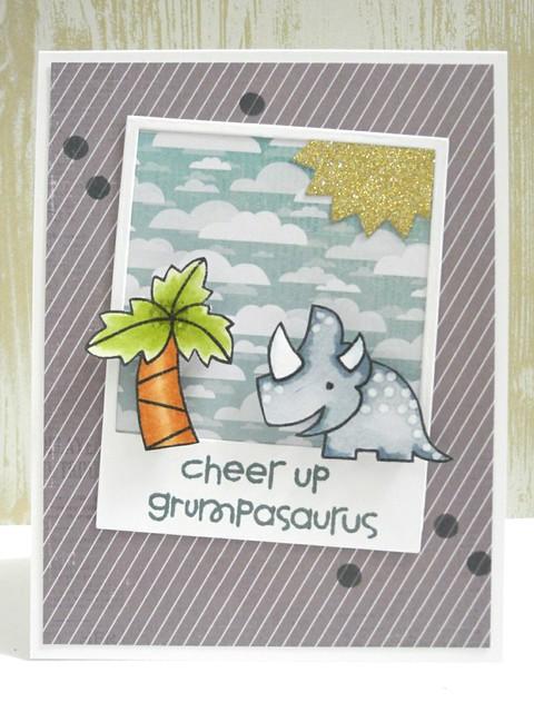 Cheer up, Grumpasaurus!