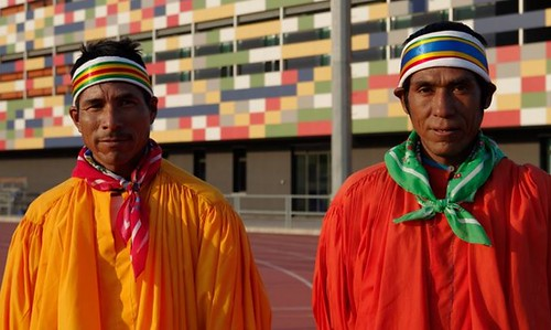 Silvino Cubésare y Arnulfo Quimare Tarahumaras