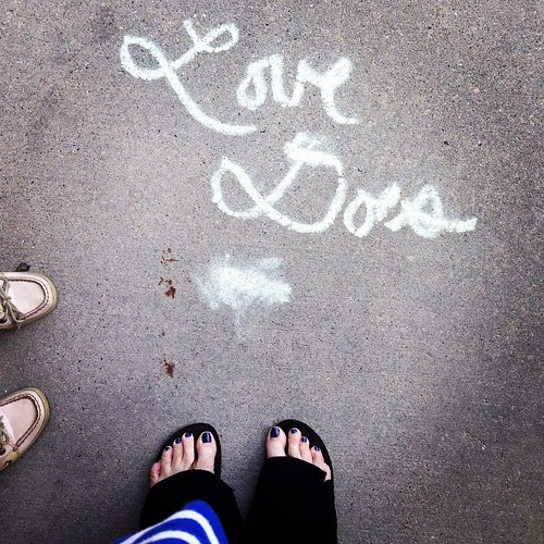 Thanks for the encouraging words Katie girl. #lovedoes
