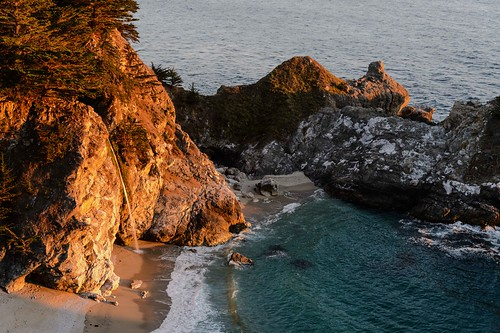 McWay Falls in Big Sur by Geoff Livingston