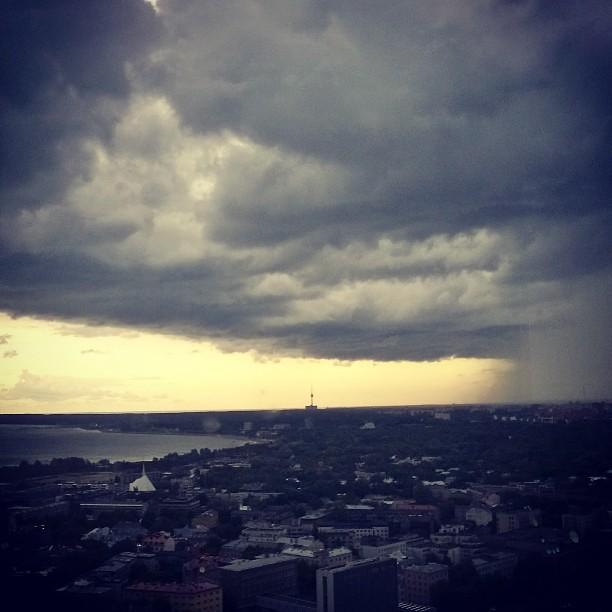 Storm over Tallinn