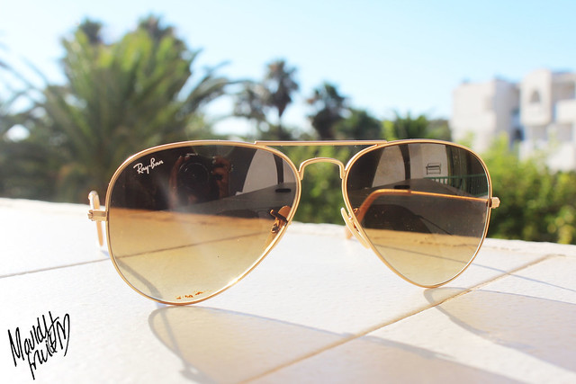 ray ban aviator matte gold  Loving/Wearing - Rayban Matte Gold Aviators