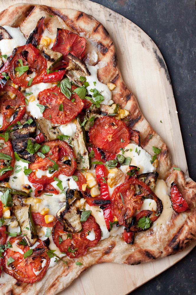 Grilled Farmer's Market Pizza