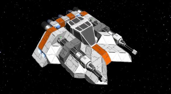 Space Engineers Gets Star Wars Snowspeeder Halo Covenant