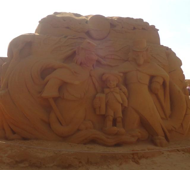 Sculpures sur sable Disney - News Touquet p.1 ! 14770278270_e799d9b78f_z