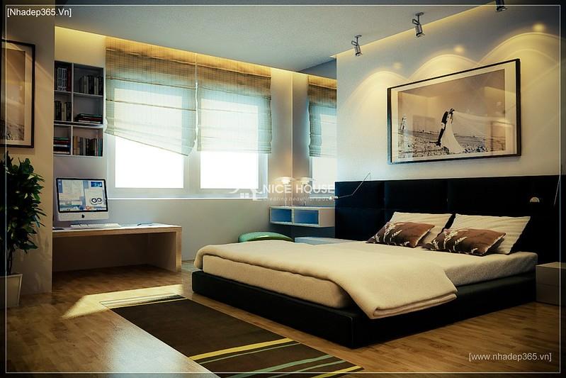 Thiết kế nội thất chung cư M5 - A Chiến_2