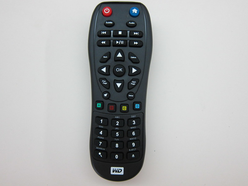 WD TV - Remote Front
