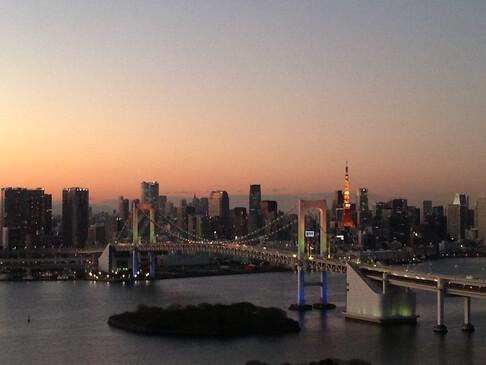 Sunset form Odaiba(Daiba)