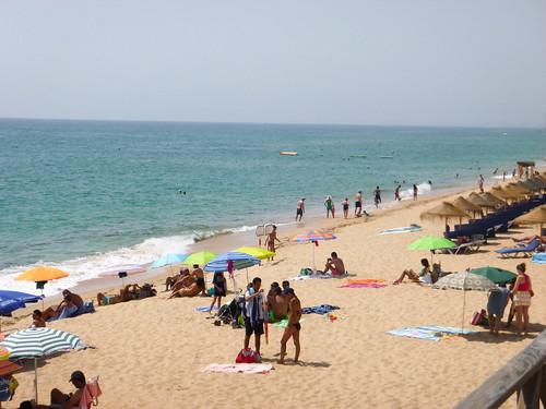 Playa junto al Gigis