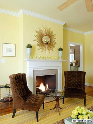 Fascinating Yellow Residing Area Design And Style Ideas