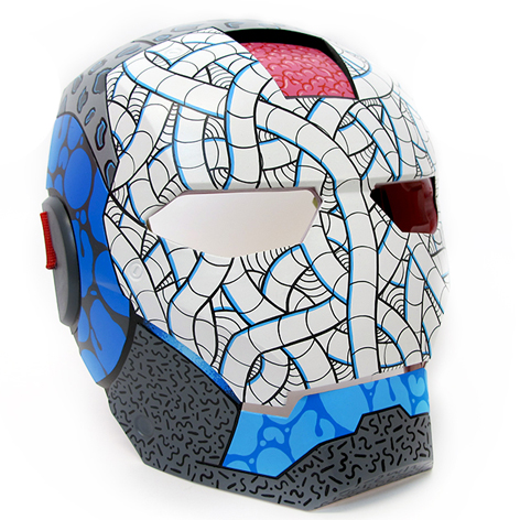 Custom Ironman Mask
