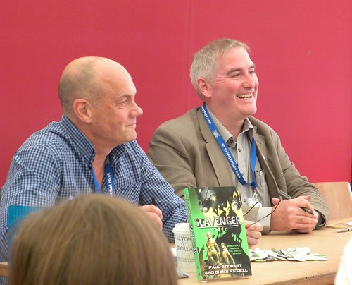 Paul Stewart and Chris Riddell