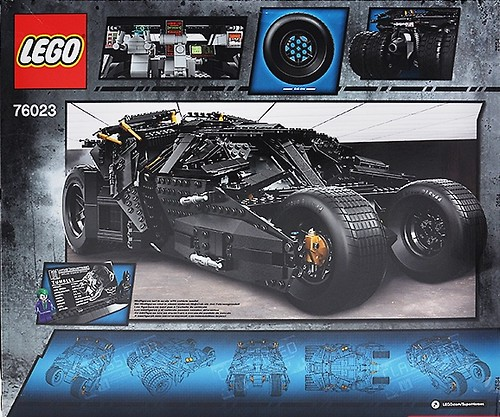 LEGO Super Heroes 76023 Back
