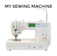 Tilly's sewing machine