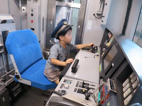 常磐線を運転します! - JR東日本東京総合車両センター夏休みフェア2014