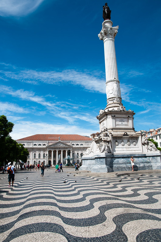 Rossio - Plaza Don Pedro IV