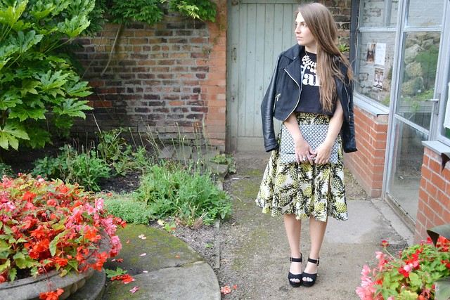 Primark pineapple skirt 5