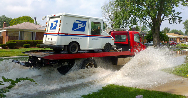 A Few Drops Never Stops The Post Office - Dearborn Heights, Michigan
