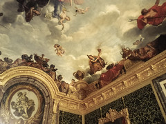 Ceiling of the Abundance Salon