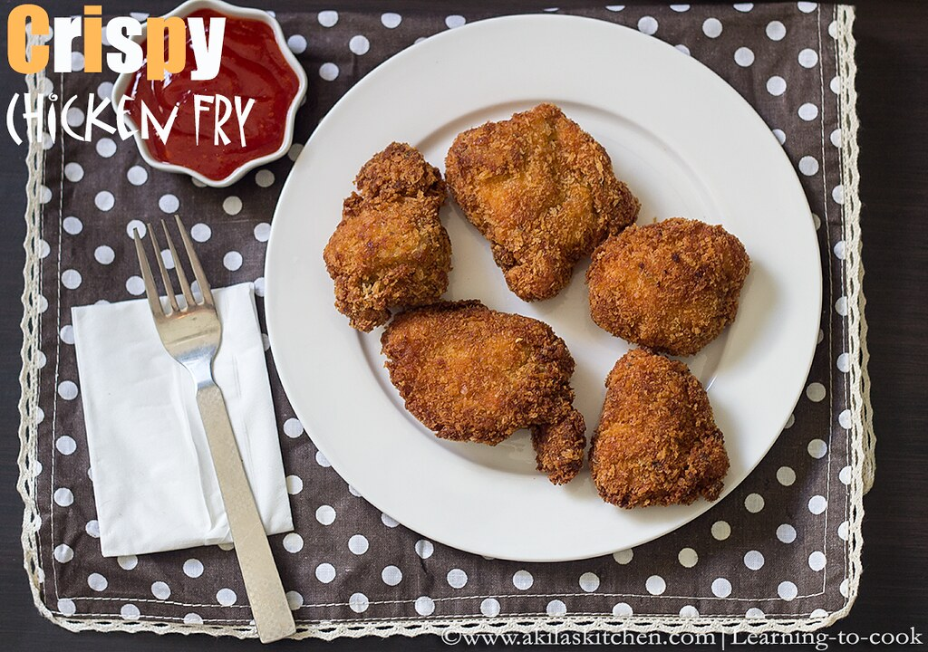 how to make chicken fry