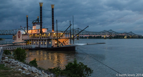 sunset mississippi nightshot unitedstates mississippiriver natchez steamboat