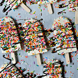 Funfetti Yogurt Pops