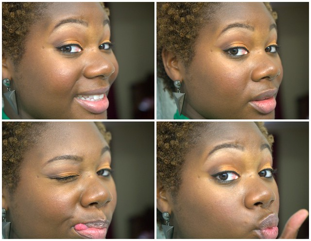 Clumps of Mascara