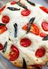 Focaccia aux tomates / Tomato Focaccia
