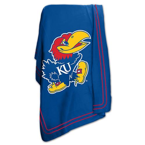 Kansas Jayhawks NCAA Classic Fleece Throw