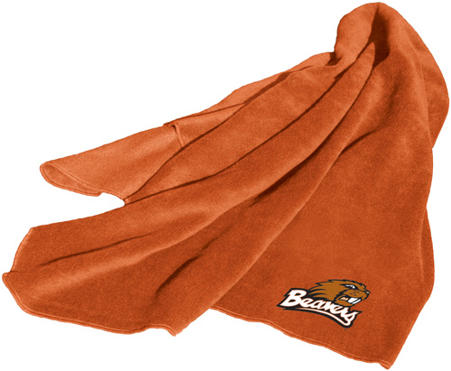 Oregon State Beavers NCAA Fleece Throw
