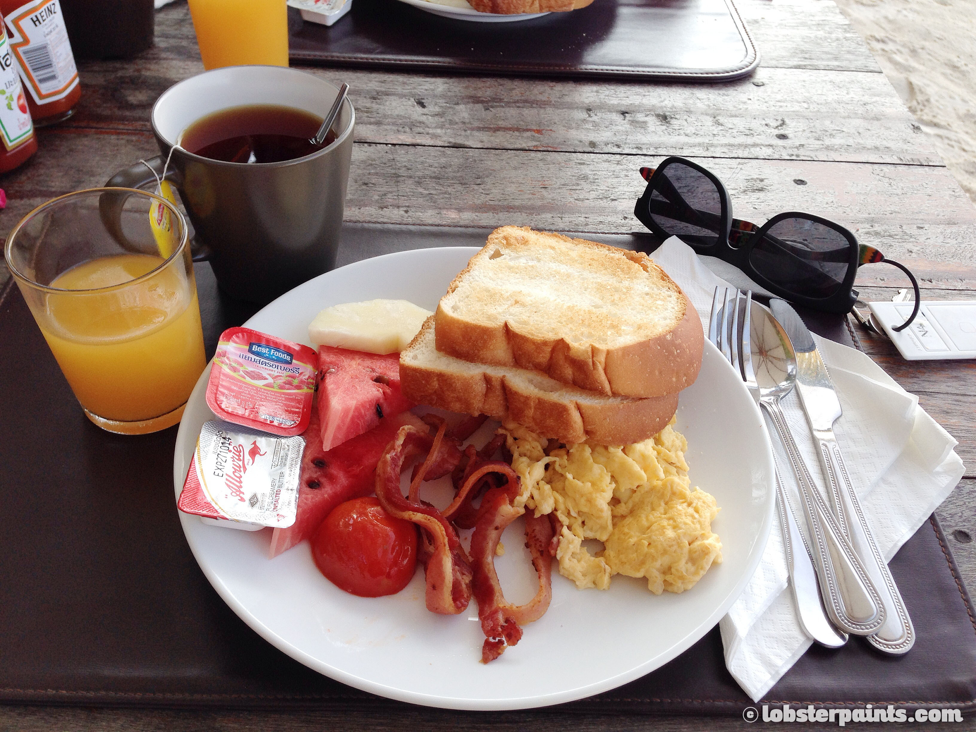 American Breakfast at Mali Resort | Koh Lipe, Thailand