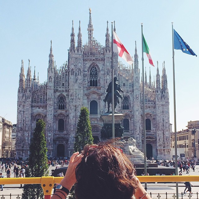 Because I've never photographed it yet #duomo #touristy #milano