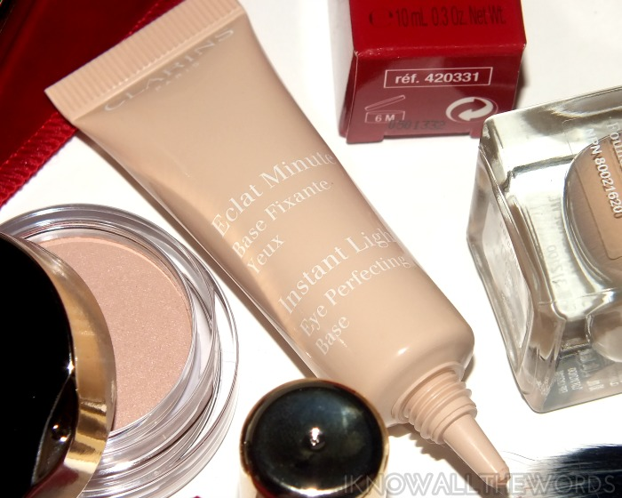 clarins lady like fall 2014- instant light eye perfecting base