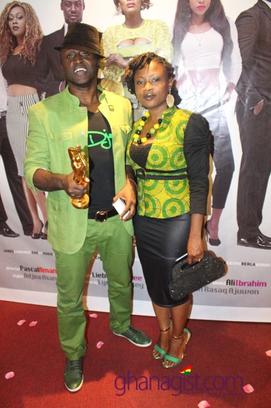 Reggie Rockstone and wife