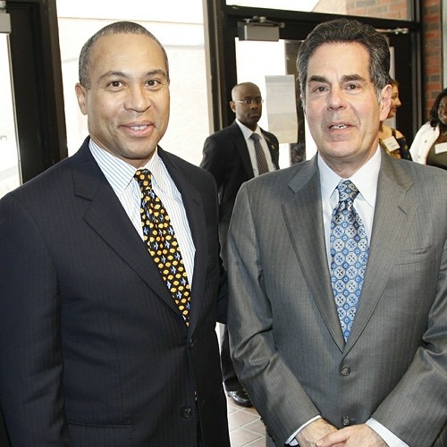 Governor Patrick and Dean Bruce Magid