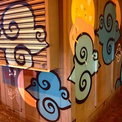 #Sampa #streetart   Followers: me ajudem a identificar estes artistas, please?
