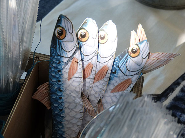sardines en papier