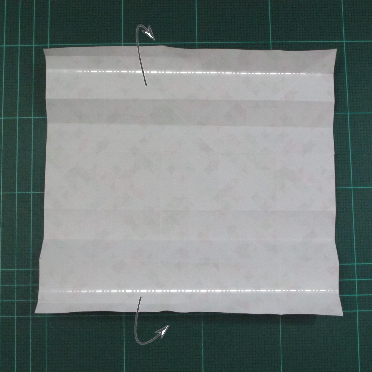 วิธีพับกล่องของขวัญแบบมีฝาปิด (Origami Present Box With Lid) 016