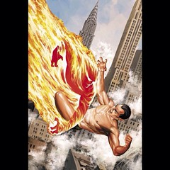 Elemental clash by Steve Epting. #comics #comicbooks