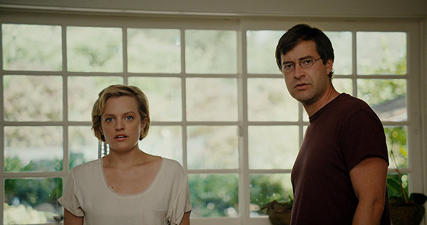 Elisabeth Moss and Mark Duplass face themselves in THE ONE I LOVE.