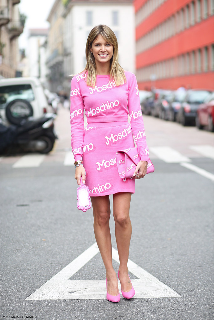 HELENA BORDON, Moschino Barbie, Milan Fashion Week