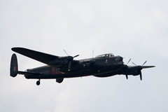 cargo aircraft(0.0), beechcraft model 18(0.0), military transport aircraft(0.0), aircraft engine(0.0), aviation(1.0), military aircraft(1.0), airplane(1.0), propeller driven aircraft(1.0), vehicle(1.0), bomber(1.0), air force(1.0), air show(1.0),